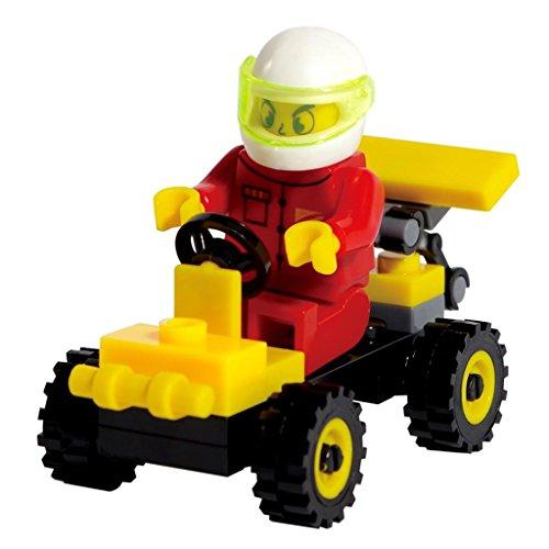 SHUNLEKANG Super Car Building Toys with 32 Pcs