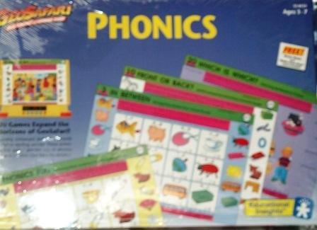 GeoSafari Phonics Game Cards