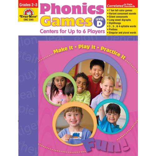 Phonics Games - Level D