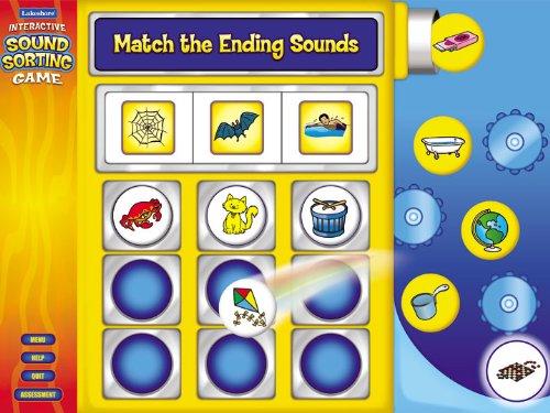 Interactive Ending Sounds Game