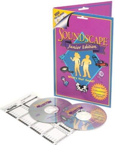 SOUNDSCAPE JUNIOR - CD Party Game