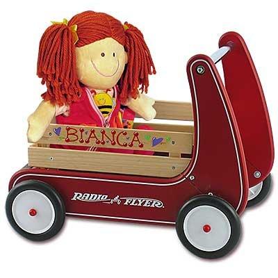 Personalized Walker Wagon Girl