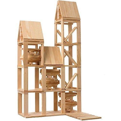 City Block CitiBlocs 100 Piece Wooden Building Set parallel import goods