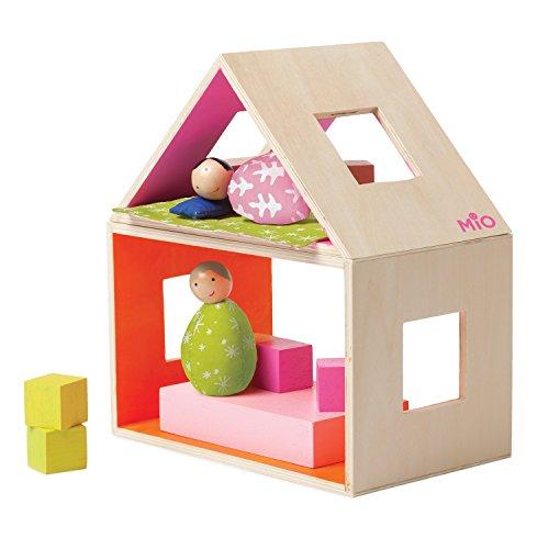 Manhattan Toy 213790 MiO Sleeping  2 People Modular Wooden Building Set Playset