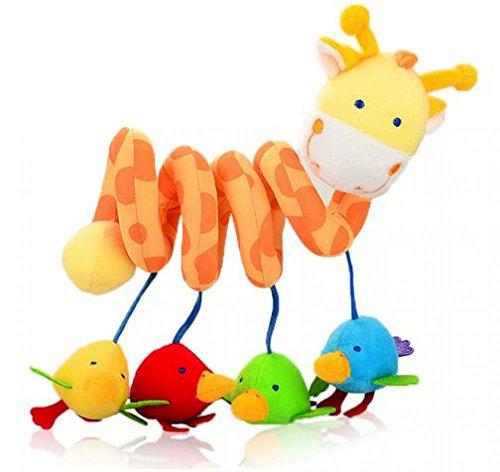 2016 Baby Toys Plush Baby Rattles Bed Around Educational Handing Toy Giraffe Plush Soft Toys Baby Toys infano donacon ludilo