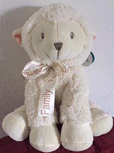 Beverly Hills Teddy Bear Co Family Lamb Rattle