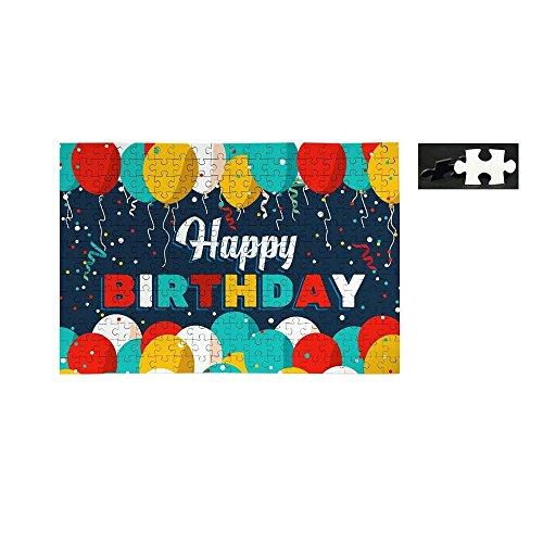Happy Birthday Jigsaw Puzzle-Funny Birthday Gift - 252 Pc Set-55987