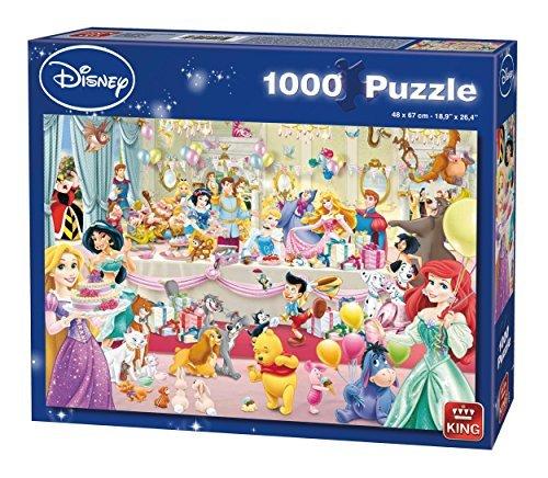 KING 5264 Disney Happy Birthday Puzzle 1000-Piece by KING