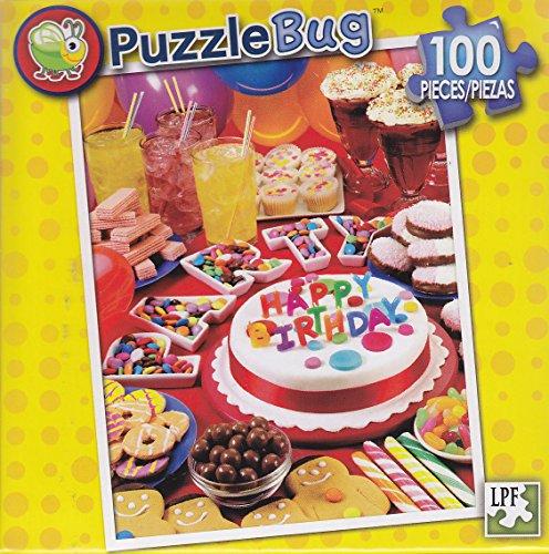 Puzzlebug 100 Piece Puzzle ~ Happy Birthday PartyBirthday Party Goodies