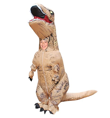 Skinz Kids Mega Suit Inflatable Costume - T-Rex Dinosaur Medium 311-45