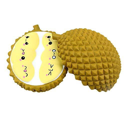 HHei_K Decompression Slow Rebound Toy !New Durian Pattern Simulation Slow Rebound Educational Toy