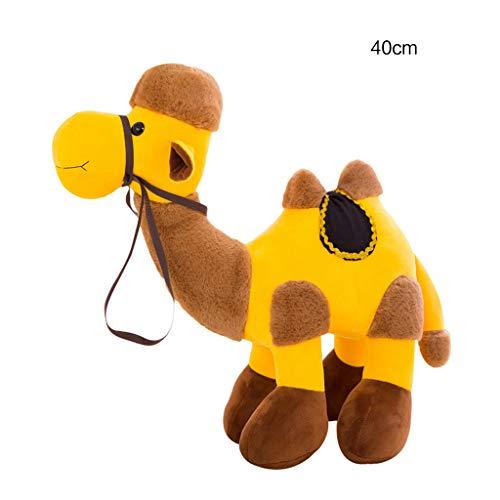 TIAN-K Cartoon Camel Animal Doll - Plush Stuffed Animal Toys Gift - 121620 Inches