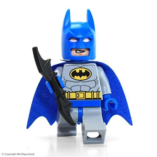LEGO DC Comics Super Heroes Batman Classic Blue Grey minifigure