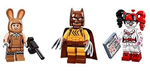 LEGO March Harriet Harley Quinn and Wolverine Batman Minifigures Batman Movie