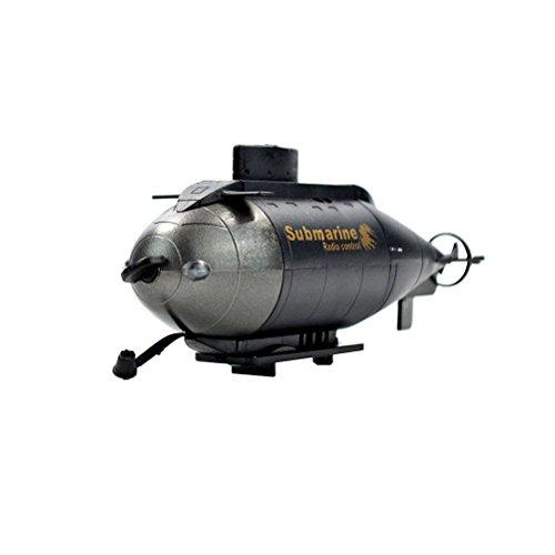 NUOLUX 6CH Mini Radio Remote Control RC Three Propellers Submarine Toy Random Color
