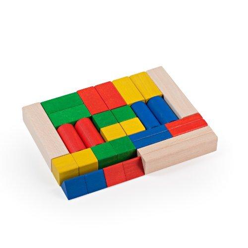 Milani Colored Building Blocks Set 30-Piece