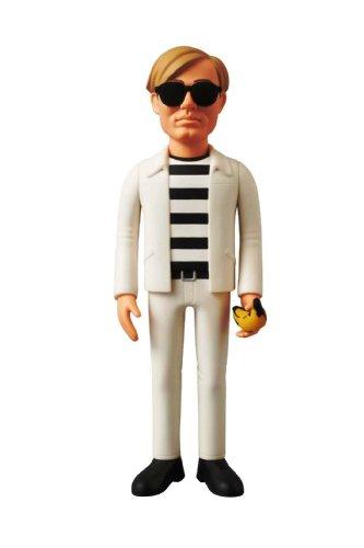 Medicom Toy Vinyl Collectible Dolls No 204 Andy Warhol -Variant Ver- Japan Import