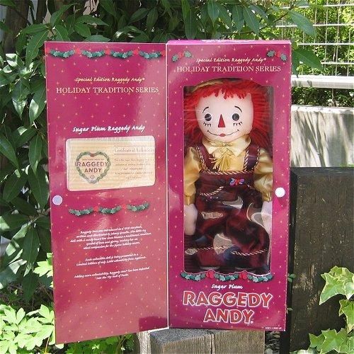 Raggedy Andy HOLYDAY TRADITION SERIES  Raggedy-Ann u0026 Andy vintage doll