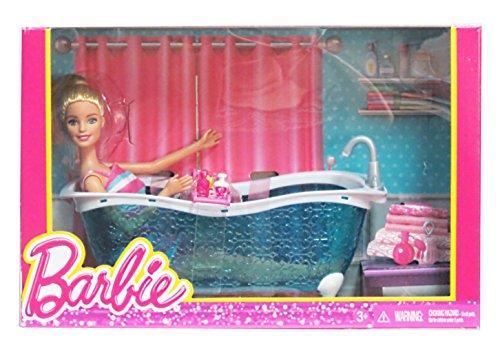 Barbie Doll With Bath Tub Accessorys