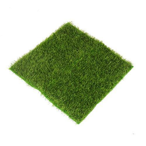 No brand goods miniature dollhouse interior miniature garden for decoration DIY micro landscape moss ornament artificial lawn