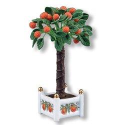 Large Potted Dollhouse Orange Tree-Reutter Porcelain