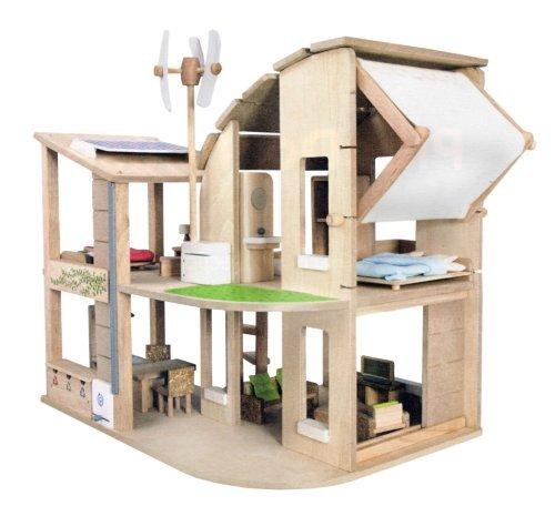 PLANTOYS 7156 Furnished Green dollhouse