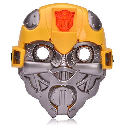 REINDEAR Transformers Costume Superhero Light Up wSound Mask