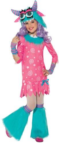 Girls Bedtime Monster Costume Small