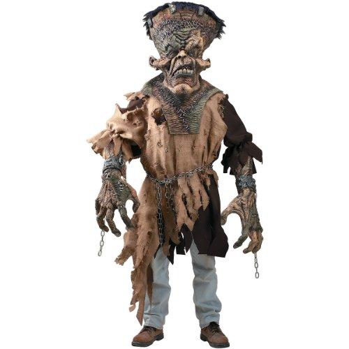Rubies Costume Creature Reaches Freak-N-Monster Costume Green Standard