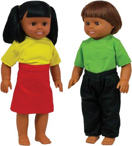 Hispanic Boy and Girl Doll Set