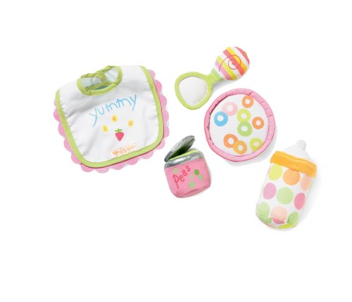 Manhattan Toy Baby Stella Feeding Baby Doll Accessory Set for 12 and 15 Soft Dolls