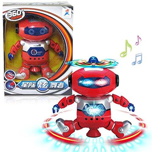 Kids Electronic Robot Buedvo Dancing Walking Smart Space Astronaut Music Light Toy