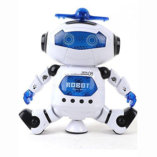 Kids Music Electronic ToysFTXJ Walking Dancing Smart Astronaut Robot