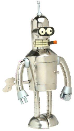 Futurama Bright n Shiny Bender Wind-Up Tin Robot