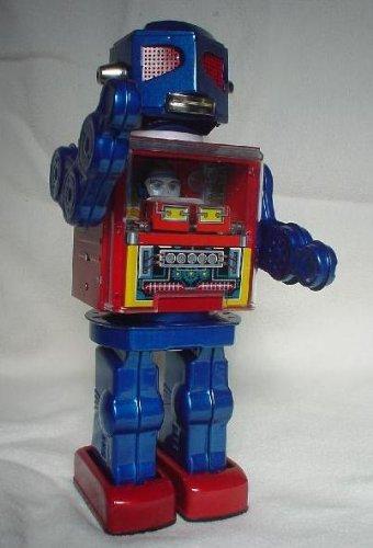 Metal Frontier tin robot
