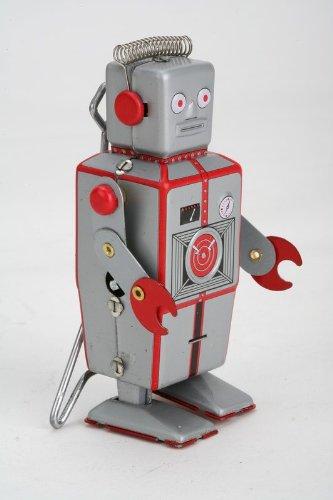 Vintage Style 375 Tin Robot John John