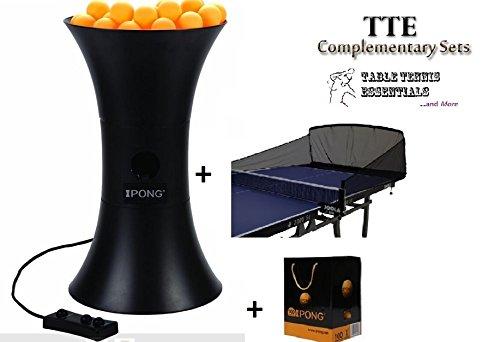 iPong ORIGINAL COMPLETE Table Tennis Robot 100ct Balls Joola Carbon Fiber Net by TTE