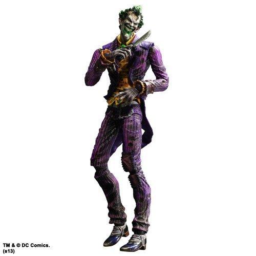 Batman Arkham City - Joker Play Arts Kai Action Figure by Square-Enix
