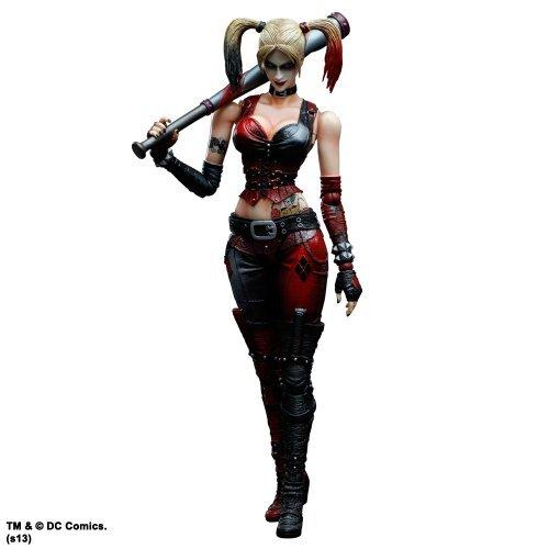 Batman Arkham City Play Arts Kai Harley Quinn Action Figure
