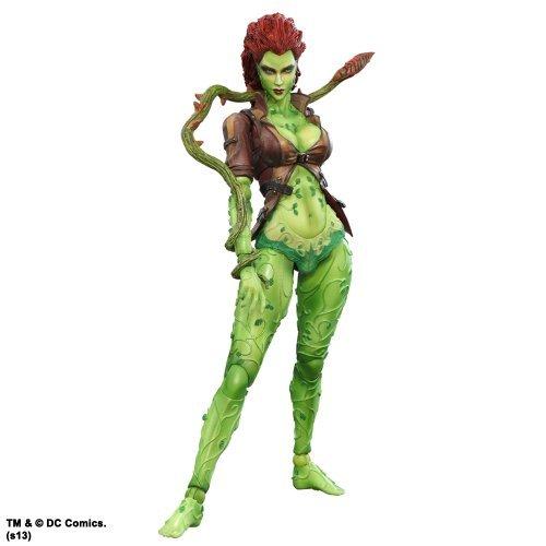 DC Comics Batman Arkham City Play Arts Kai Poison Ivy Action Figure by DC Comics