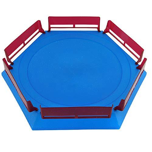 khkadiwb Toys Repair Tool&Classic ToysDIY Burst Gyro Arena Disk Duel Spinning Beyblades Launcher Stadium Kids Toy - Blue Funny Kids Gift Durable