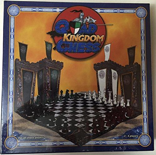 QUAD KINGDOM CHESS BOARD GAME 4 PLAYER