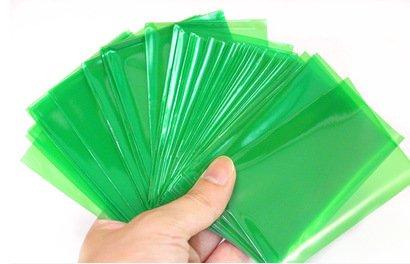 KAKDA100 PCSSet Colorful Backs Card Sleeves Cards Protector for Board Game 65CM9CM - Color Green