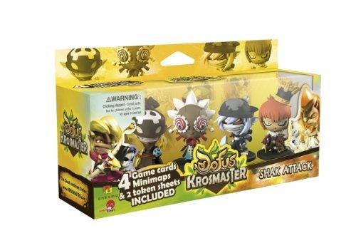 Global Games Distribution Krosmaster Arena Expansion 8 Shak Attack Board Game by Global Games Distribution
