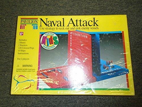 Pavillion Naval Attack Board Game