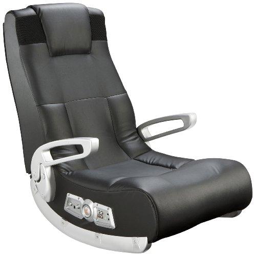 X Rocker 5143601 II Video Gaming Chair  Wireless  Black