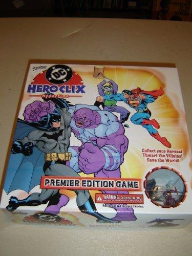 DC Hero Clix Super Hero Board Game by HeroClix