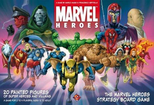Marvel Heroes Board Game by Fantasy Flight Games