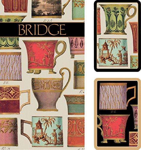 Bridge Playing Cards Score Cards Gift Set Salon de The Design