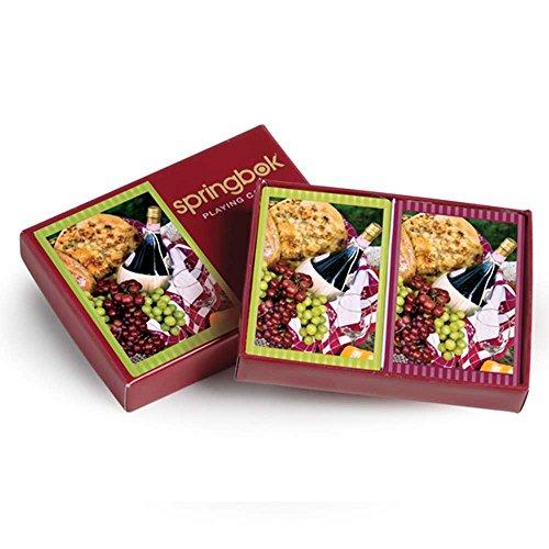 Springbok Puzzles Picnic Perfect Bridge Standard Index Playing Cards
